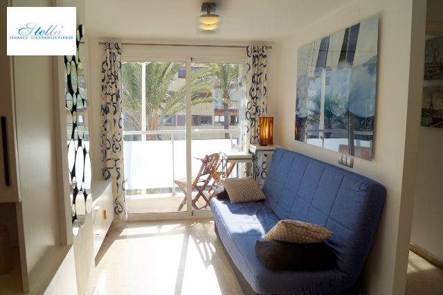 apartment in Moraira(Centre) for sale, built area 40 m², + KLIMA air-condition yes, 1 bedroom, 1 bathroom, swimming-pool yes, ref.: CA-A-853-AMB-3