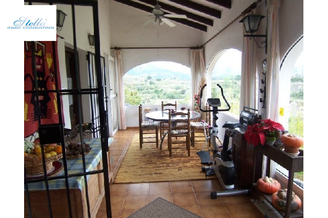 country house in Benissa(Ptda Benimarraig) for sale, built area 165 m², year built 1981, + underfloor heating plot area 5000 m², 3 bedroom, 2 bathroom, swimming-pool yes, ref.: BI-BE.F-128-4