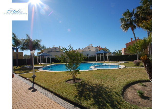 terraced house in Oliva(Oliva Nova Golf) for sale, built area 120 m², + KLIMA air-condition yes, plot area 100 m², 2 bedroom, 2 bathroom, swimming-pool yes, ref.: O-V45514-19