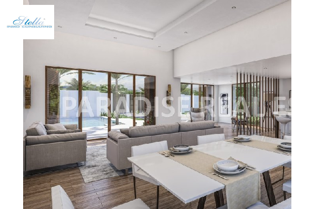 villa in Javea for sale, built area 200 m², + underfloor heating air-condition yes, plot area 1000 m², 3 bedroom, 2 bathroom, swimming-pool yes, ref.: PR-PPS2222-4