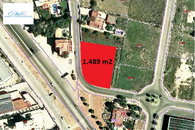 residential ground in El Vergel(Salobres) for sale, plot area 1489 m², ref.: GC-0819-2