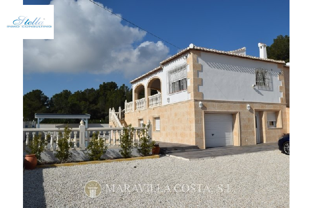 villa in Javea for sale, built area 260 m², + central heating air-condition yes, plot area 1200 m², 4 bedroom, 4 bathroom, swimming-pool yes, ref.: MV-2403-2