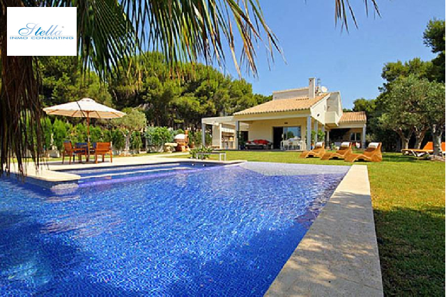 villa in Moraira(Cometa) for sale, built area 424 m², air-condition yes, plot area 1850 m², 4 bedroom, 3 bathroom, swimming-pool yes, ref.: AM-10313DA-3700-1