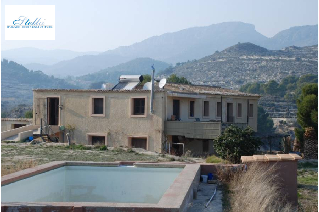 country house in Relleu(Relleu) for sale, built area 570 m², plot area 415000 m², 5 bedroom, 3 bathroom, swimming-pool yes, ref.: AM-10598DA-3700-9