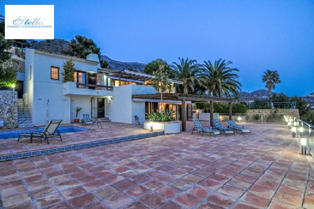 villa in Altea(Urbanizaciones) for sale, built area 659 m², air-condition yes, plot area 1250 m², 4 bedroom, 3 bathroom, swimming-pool yes, ref.: AM-282DA-3700-3