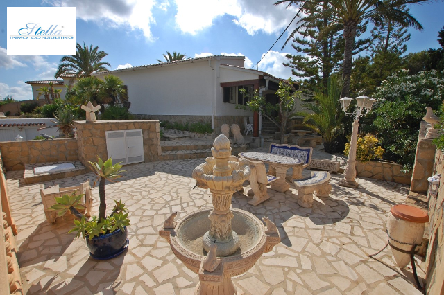 villa in Benissa for sale, built area 256 m², year built 1973, + central heating plot area 1081 m², 3 bedroom, 2 bathroom, swimming-pool yes, ref.: O-V68714-7
