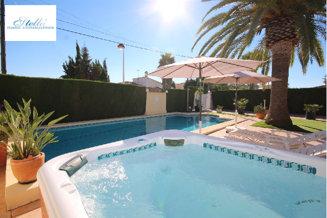 villa in Els Poblets for sale, built area 200 m², year built 2000, air-condition yes, plot area 543 m², 3 bedroom, 2 bathroom, swimming-pool yes, ref.: UM-UV-0420-16