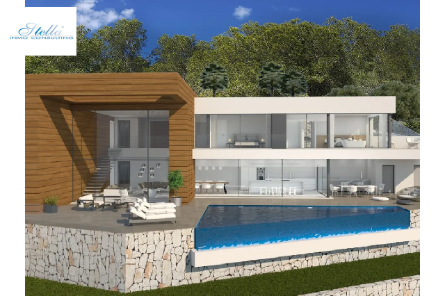 villa in Moraira(La Arnella) for sale, built area 340 m², air-condition yes, plot area 1044 m², 4 bedroom, 4 bathroom, ref.: BP-6015MOR-1