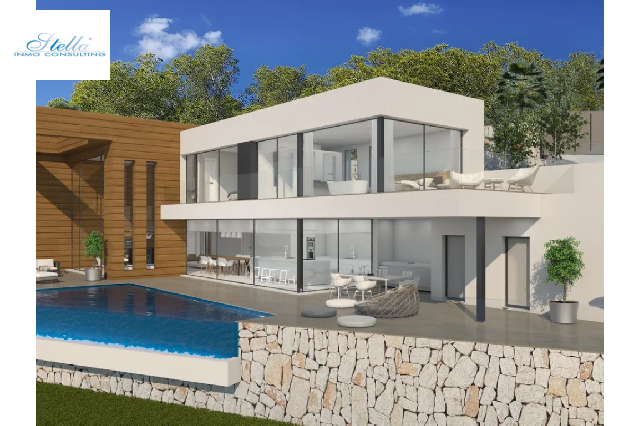 villa in Moraira(La Arnella) for sale, built area 340 m², air-condition yes, plot area 1044 m², 4 bedroom, 4 bathroom, ref.: BP-6015MOR-5