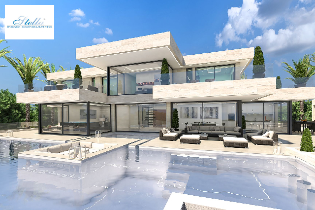 villa in Javea for sale, built area 1038 m², air-condition yes, plot area 1600 m², 5 bedroom, 6 bathroom, swimming-pool yes, ref.: UM-UV-MASERATI-11