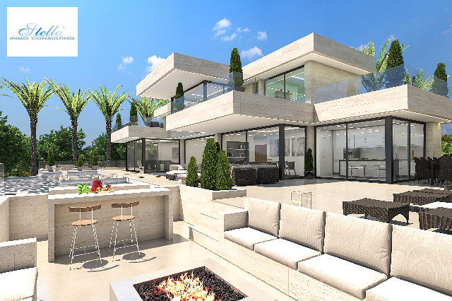 villa in Javea for sale, built area 1038 m², air-condition yes, plot area 1600 m², 5 bedroom, 6 bathroom, swimming-pool yes, ref.: UM-UV-MASERATI-14