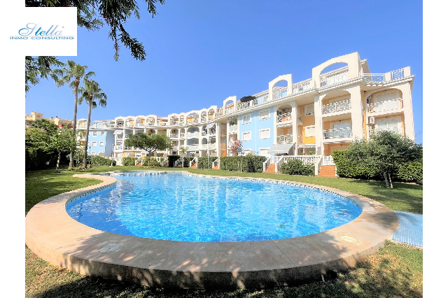 apartment in Denia(Las Marinas) for holiday rental, built area 90 m², year built 2003, condition neat, + central heating air-condition yes, 2 bedroom, 1 bathroom, swimming-pool yes, ref.: T-0318-1